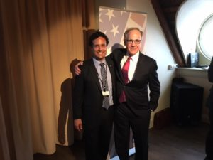 Stavanger Event: Jason Turflinger and Ambassador Heins