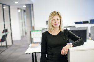 Elyette Roux, Schneider Electric