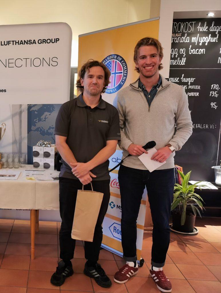 Longest Drive Mens: Jens Karlsson - Egencia - Lufthansa Group - ISCO Group